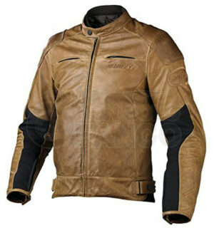 Giubbotto Dainese R-Twin Pelle Tabacco