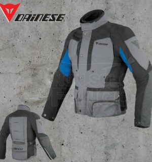 Giubbotto Dainese D-Stormer D-Dry Castle-Rock/Nero/Princess-Blue