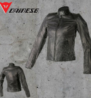 Giubbotto Dainese Mike Pelle Lady Nero