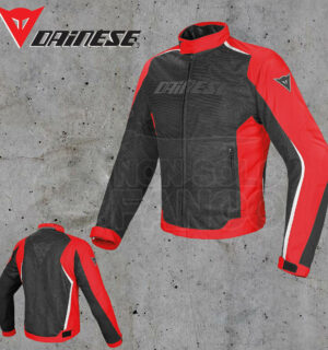 Giubbotto Dainese Hydra Flux D-Dry Nero/Rosso/Bianco