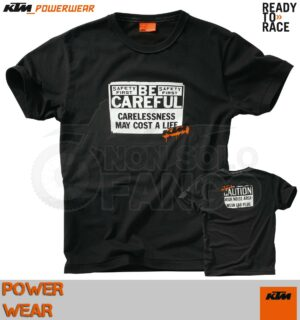 Maglietta T-shirt KTM Power Wear CAREFUL TEE