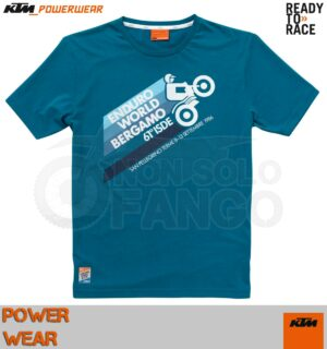 Maglietta T-shirt KTM Power Wear ISDE 1986 TEE
