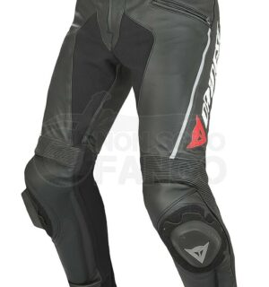 Pantaloni Delta Pro C2 Pelle Nero/Nero