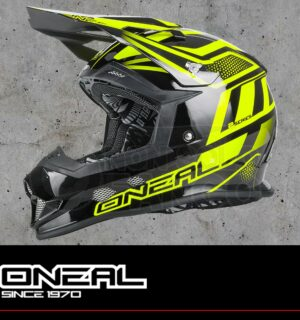 Casco Moto Off-Road O'Neal 2SERIES EVO MANALISHI black-neon yellow