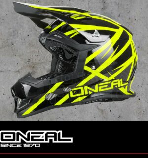 Casco Moto Off-Road O'Neal 2Series EVO THUNDERSTRUCK black/neon yellow