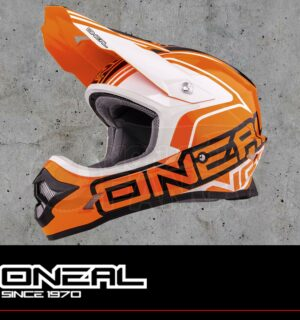 Casco Moto Off-Road O'Neal 3Series LIZZY orange