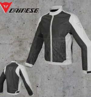 Giubbotto Dainese Air Flux D1 Tex Nero/High-Rise