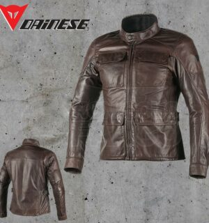 Giubbotto Dainese Richard pelle Dark Brown