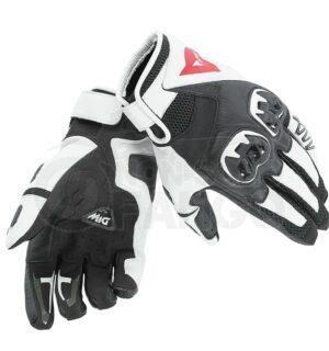 Guanti moto Mig C2 Gloves Nero/Bianco/Nero