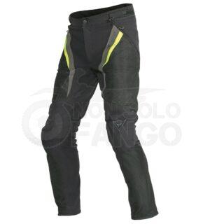 Pantaloni Drake Super Air Tex Nero/Giallo-Fluo/Dark-Gull-Gray