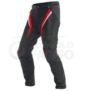 Pantalone Drake Super Air Tex Nero/Rosso/Bianco