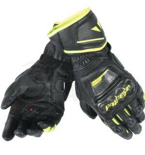 Guanti Druid D1 Long Gloves Nero/Nero/Giallo-Fluo