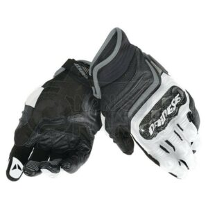 Guanti Carbon D1 Short Gloves Nero/Bianco/Antracite