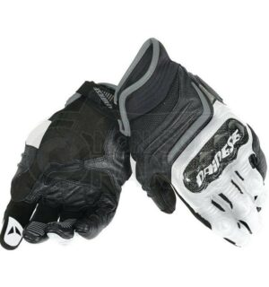 Guanti Carbon D1 Short Gloves Nero/Bianco/Antracite