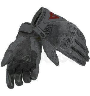 Guanti moto Mig C2 Gloves Nero/Nero/Nero