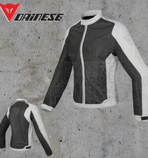 Giubbotto Dainese Air Flux D1 Tex Lady Nero/High-Rise