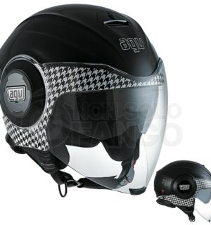 Casco moto Jet FLUID E2205 Multi Dresscode Black
