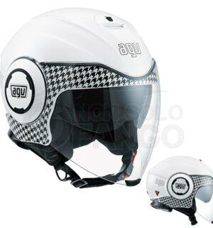 Casco moto Jet FLUID E2205 Multi Dresscode White