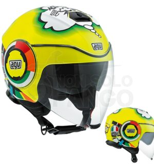 Casco moto Jet FLUID E2205 Top Misano 2011