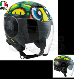 Casco moto Jet FLUID E2205 Top Tartaruga