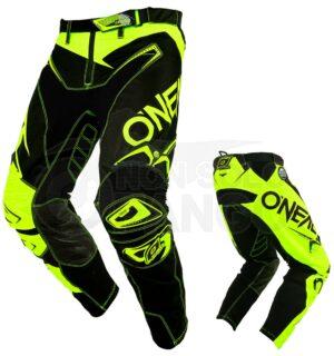 Pantaloni Moto Off-Road O'Neal HARDWEAR Pants LE FLOW Hi-vis/Black