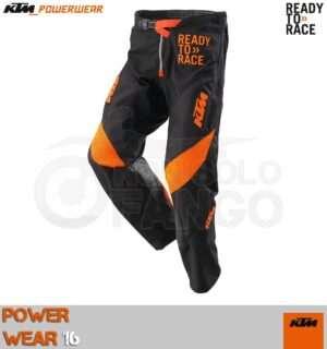 Pantalone enduro KTM Power Wear 2016 Pounce Pants Black