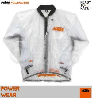 Giacca antipioggia KTM Power Wear Rain Jacket Transparent