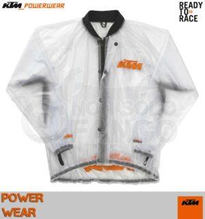 Giacca antipioggia KTM Power Wear Rain Jacket Transparent