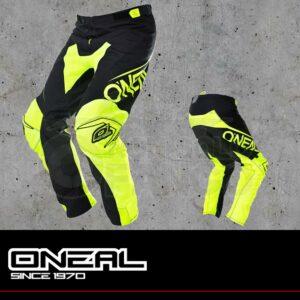 Pantaloni Moto Off-Road O'Neal MAYHEM LITE Pants BLOCKER black/hi vis