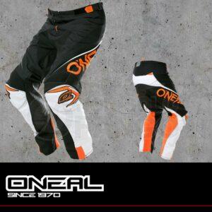 Pantaloni Moto Off-Road O'Neal MAYHEM LITE Pants BLOCKER black/white/orange