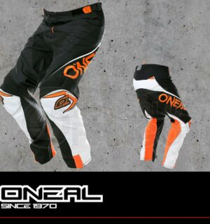Pantaloni Moto Off-Road O'Neal MAYHEM LITE Pants BLOCKER black/white/orange