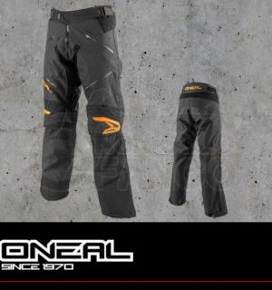 Pantaloni Moto Off-Road O'Neal BAJA Pants Black/Orange