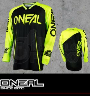 Maglia Off-Road O'neal MAYHEM LITE Jersey BLOCKER black/hi-vis