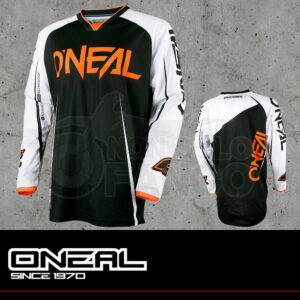 Maglia Off-Road O'neal MAYHEM LITE Jersey BLOCKER black/white/orange