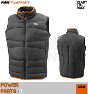 Piumino smanicato KTM Power Wear 2017 PADDED VEST