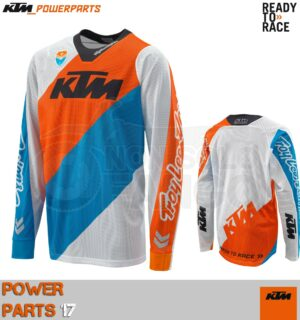 Maglia enduro KTM Power Wear 2017 SE SLASH SHIRT WHITE