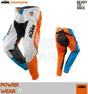 Pantalone enduro KTM Power Wear 2017 SE SLASH PANTS WHITE