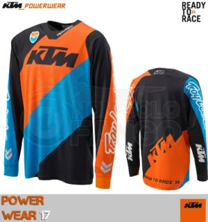 Maglia enduro KTM Power Wear 2017 SE SLASH SHIRT BLACK