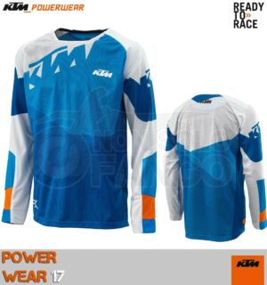 Maglia enduro KTM Power Wear 2017 GRAVITY-FX SHIRT BLUE