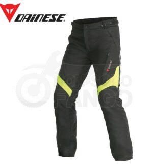 Pantaloni Tempest D-Dry Nero/Giallo-Fluo