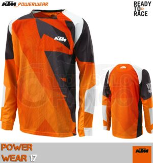 Maglia Off-Raod KTM Power Wear 2017 GRAVITY-FX SHIRT ORANGE