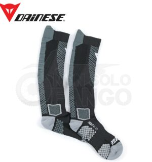 Calze tecniche D-CORE HIGH SOCK Nero/Antracite