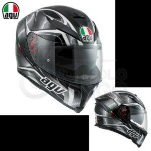 Casco moto Integrale K-5 S E2205 MULTI HURRICANE Black/Gunmetal/White