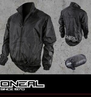 Giacca antiacqua MTB O'neal BREEZE Rain Jacket black