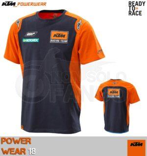 T-shirt KTM Power Wear 2018 Replica Team Tee