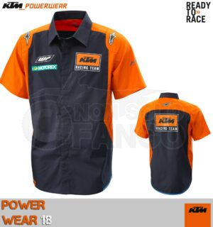 Shirt KTM Power Wear 2018 Replica Team Shirt