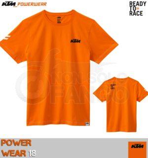 T-shirt KTM Power Wear 2018 Racing Tee Orange
