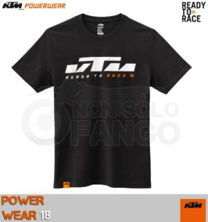 T-shirt KTM Power Wear 2018 Sliced Tee