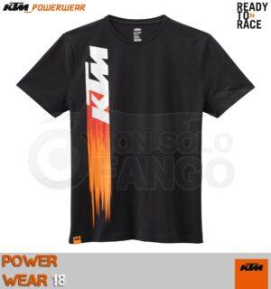 T-shirt KTM Power Wear 2018 Faded Tee Black