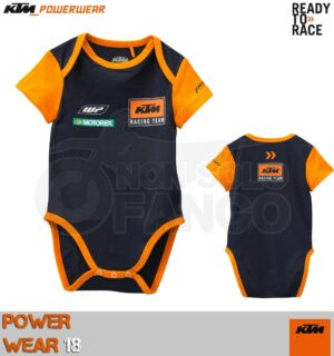Body Neonato KTM Power Wear 2018 Replica Baby Body